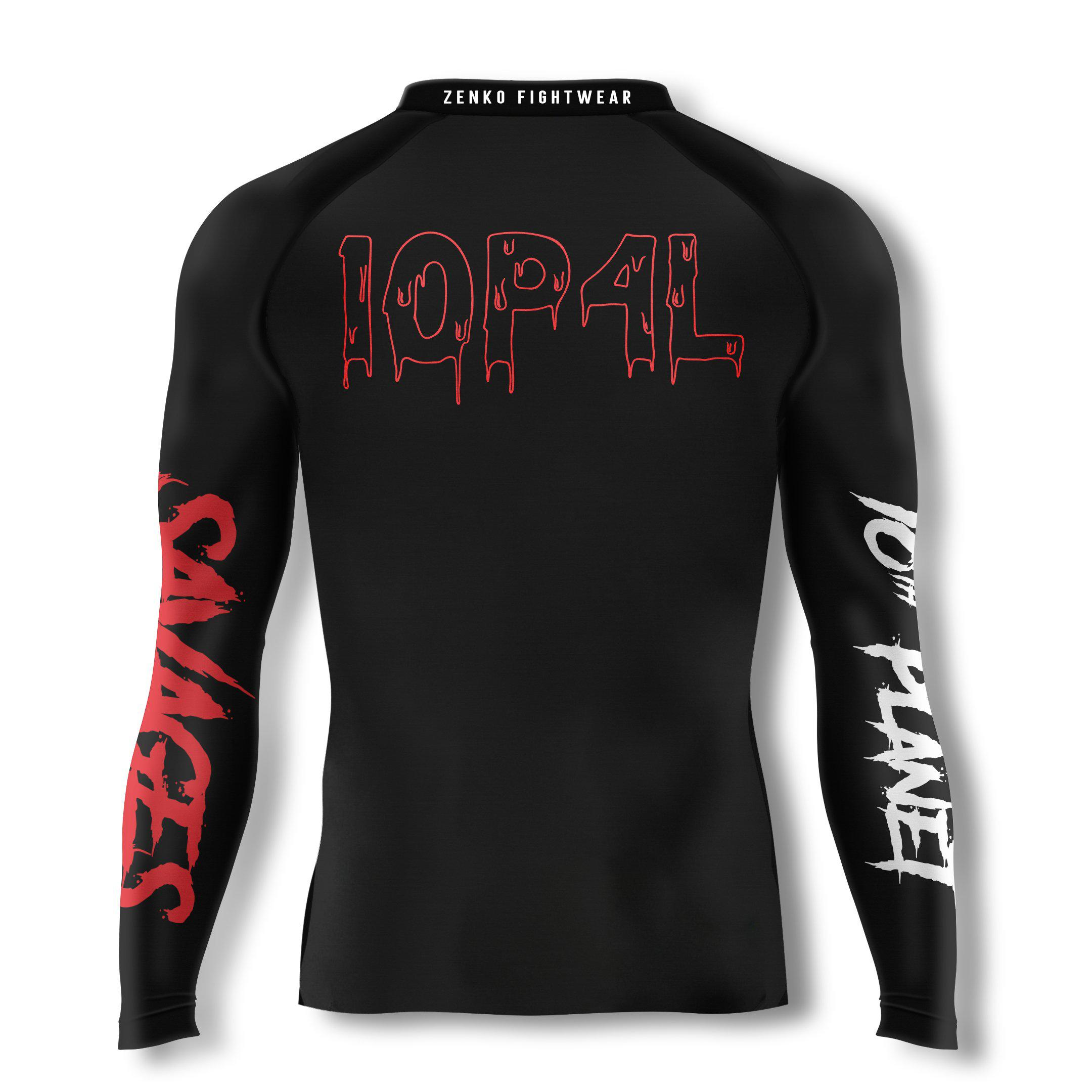 10th Planet Savages Zombie Rashguard - Zenko Fightwear