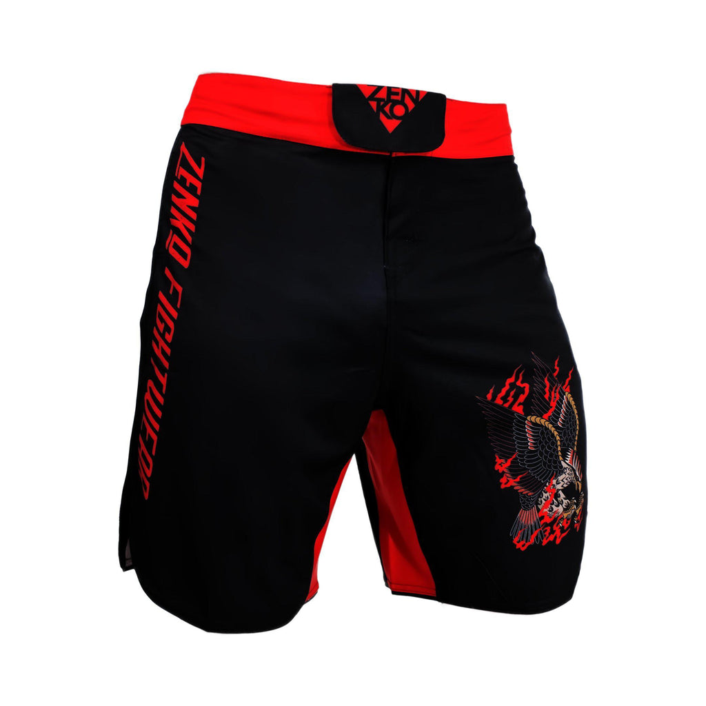 Bird Of Prey Grappling Shorts - Zenko Fightwear