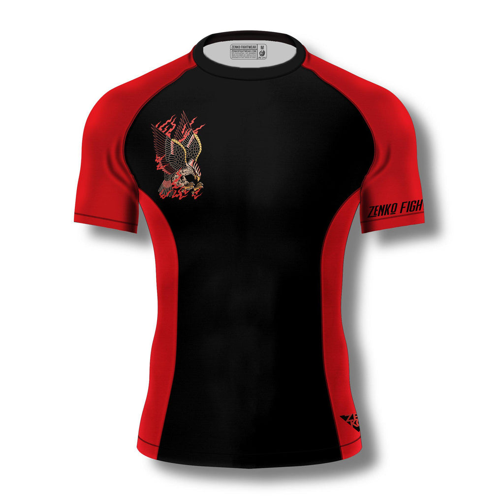 Bird Of Prey Rashguard - Zenko Fightwear