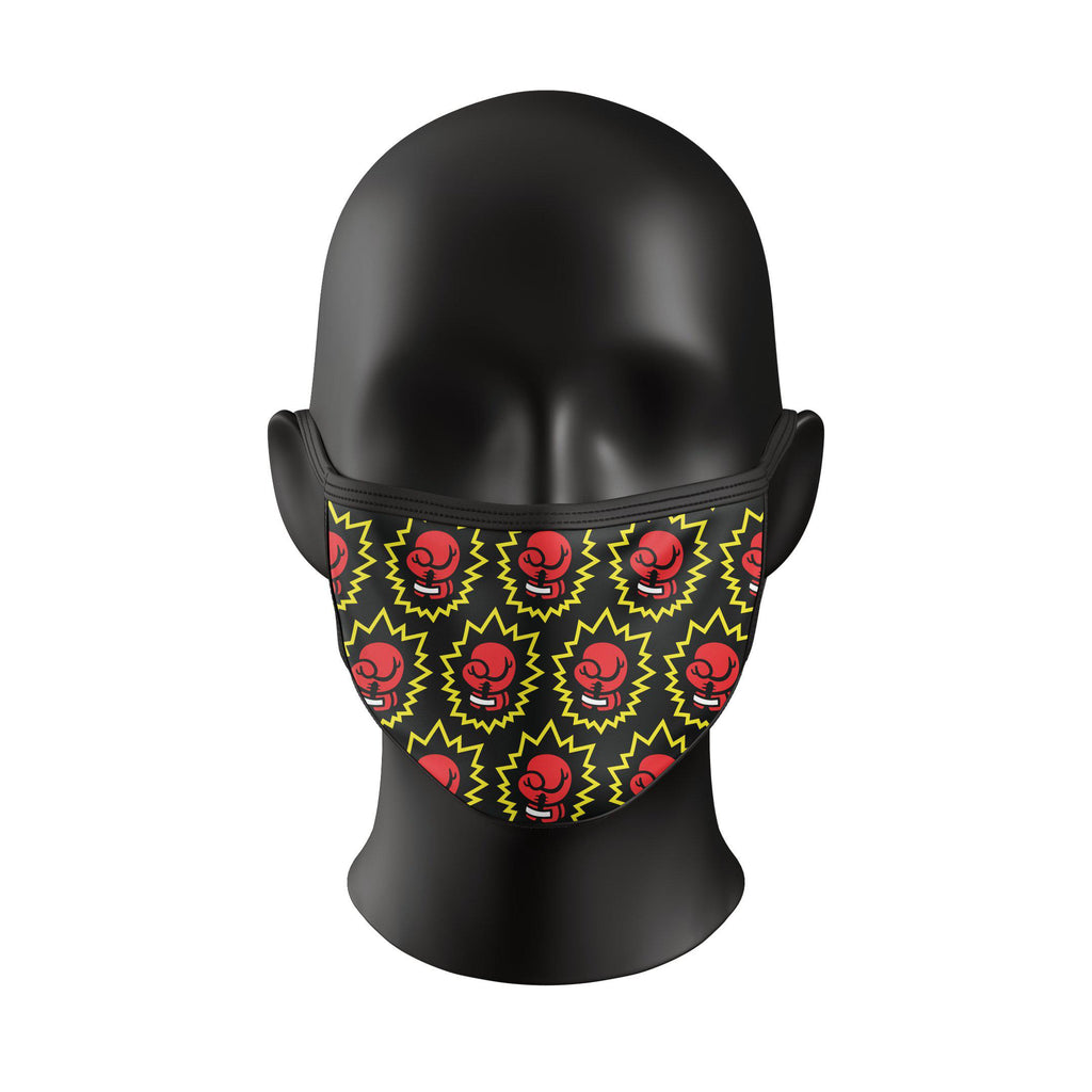 Knockout Face Mask - Boxing Gloves - Zenko Fightwear