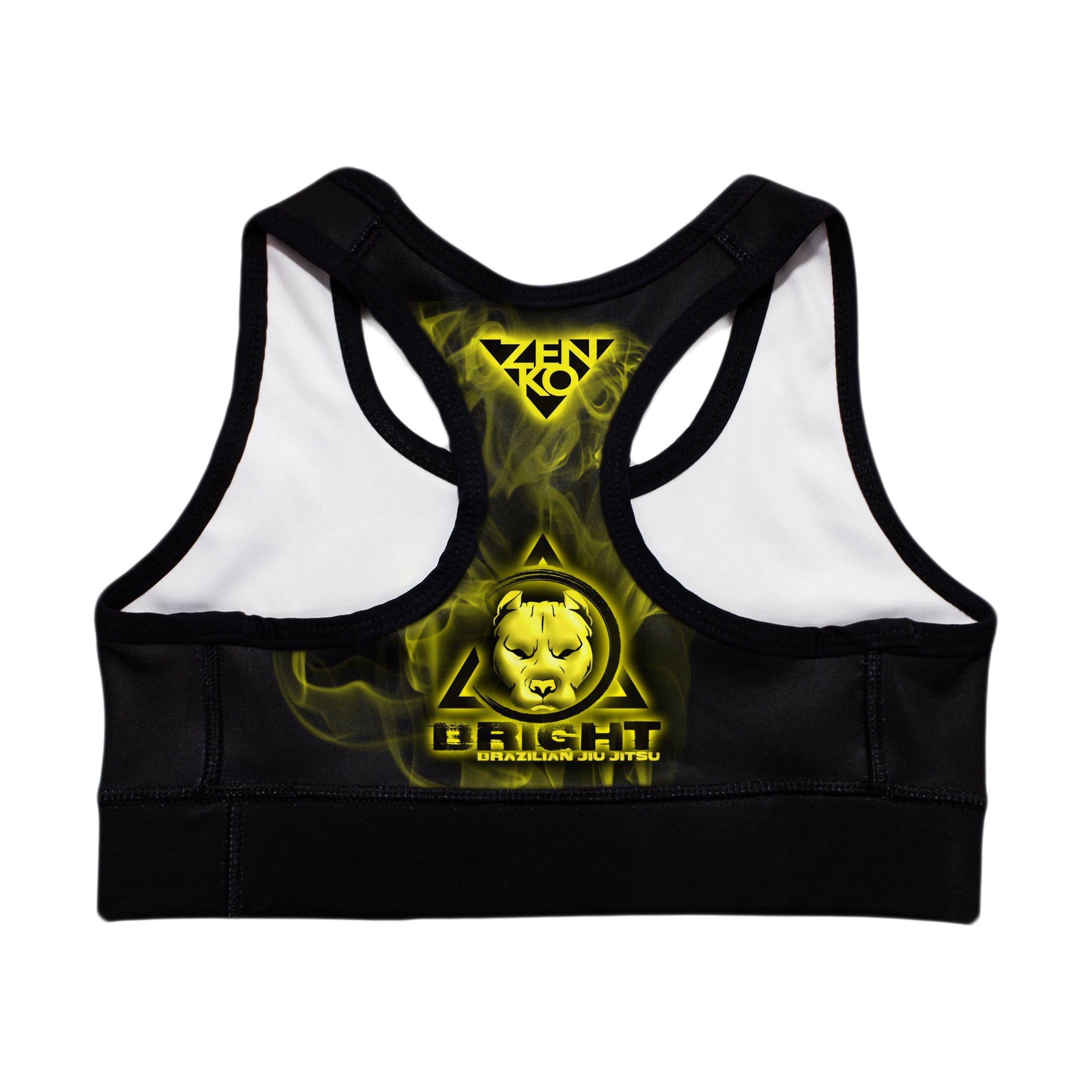 Bright BJJ Sports Bra - Zenko Fightwear