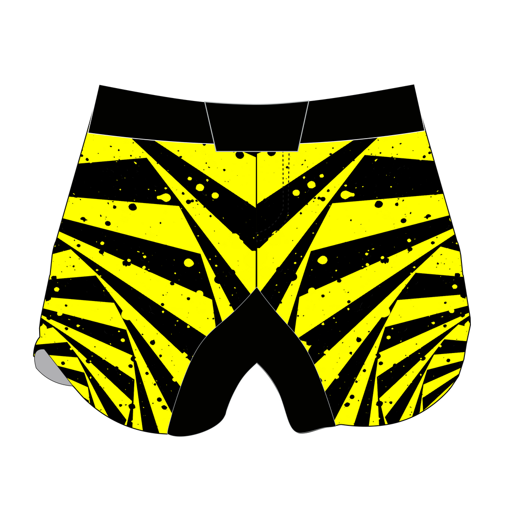 Caution Bitch! Kickboxing Shorts - Training Is Ritual - Zenko Fightwear