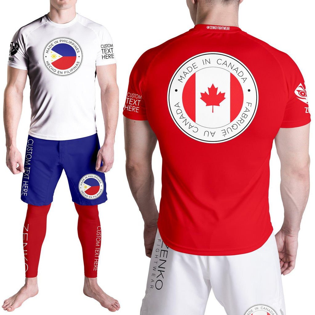 Zenko Fightwear Custom Heritage Collection Jersey Tee