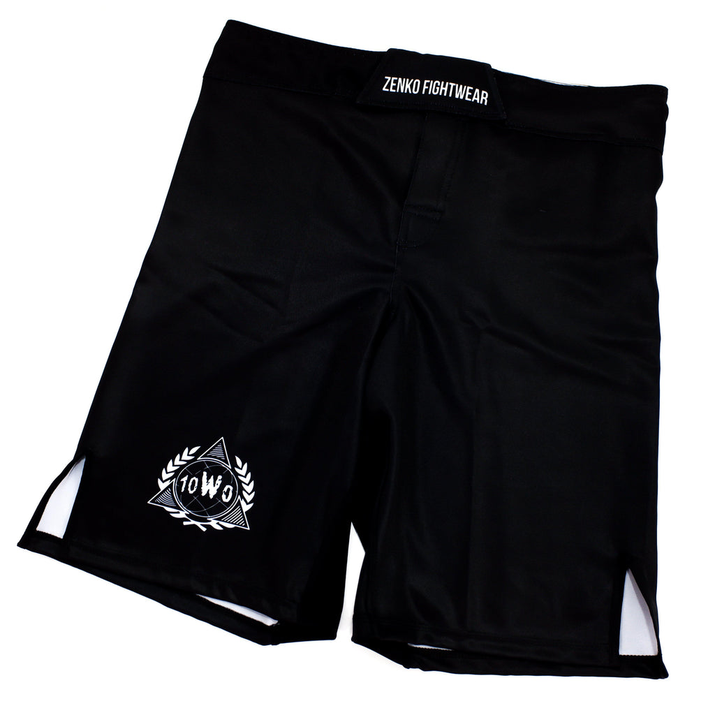 10th Planet Springfield SHJJ Fight Shorts Zenko Fightwear Front