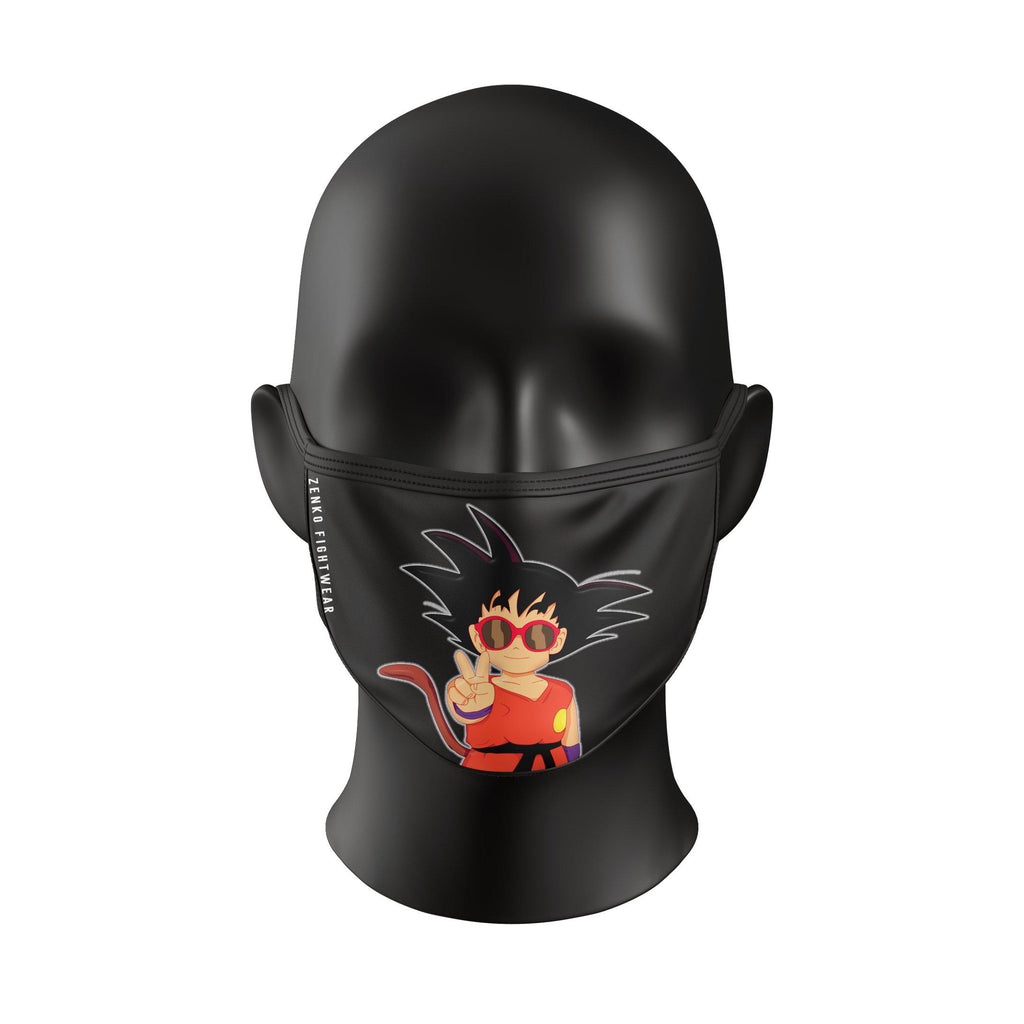 Goku Face Mask - Zenko Fightwear