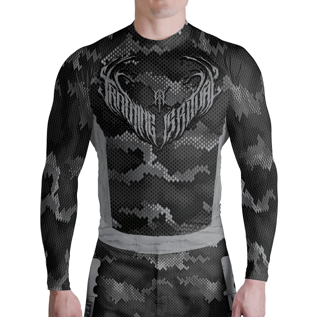 Training Is Ritual Instigator Long Sleeve Rashguard - Zenko Fightwear