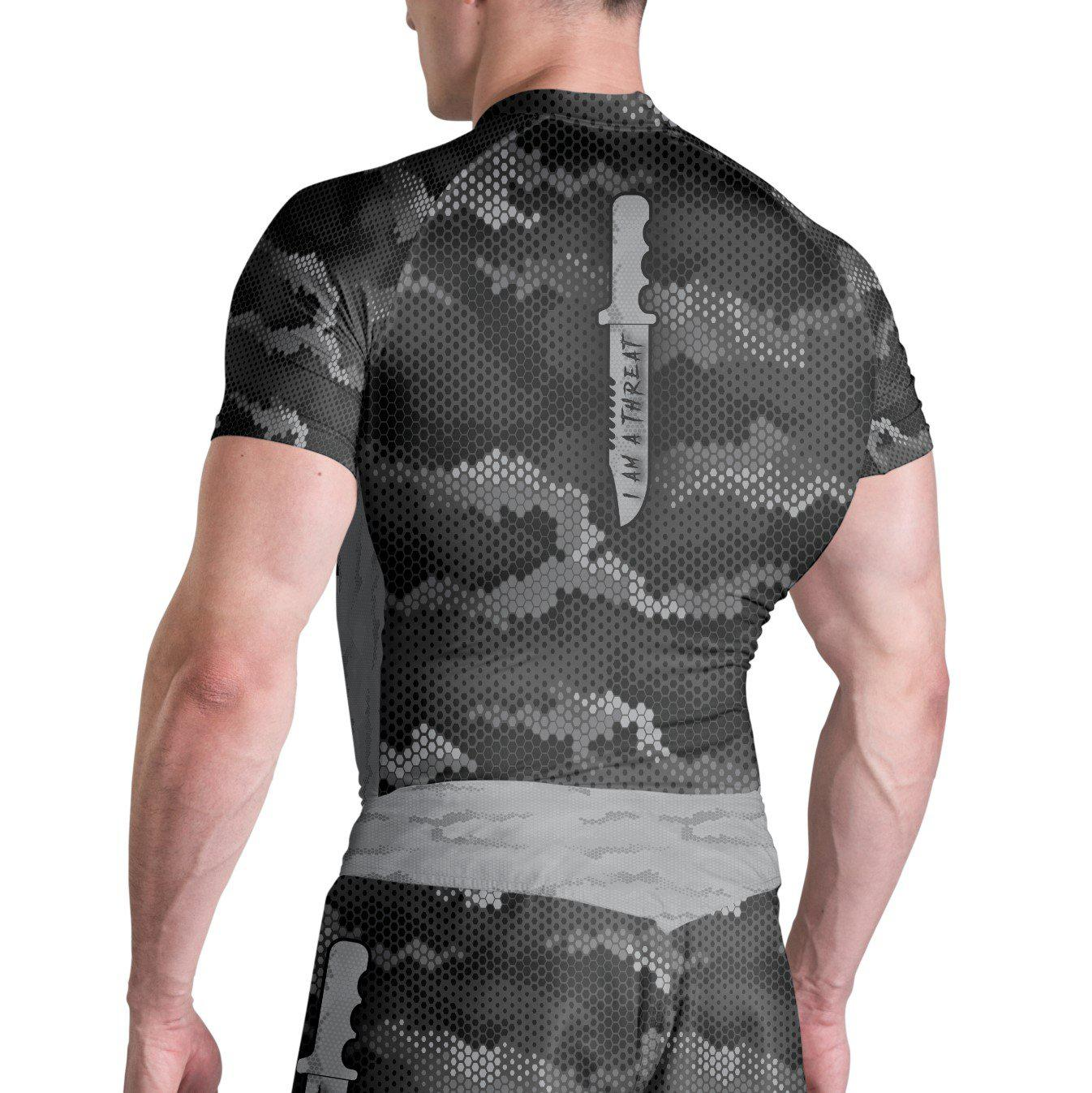 Training Is Ritual Instigator Short Sleeve Rashguard - Zenko Fightwear