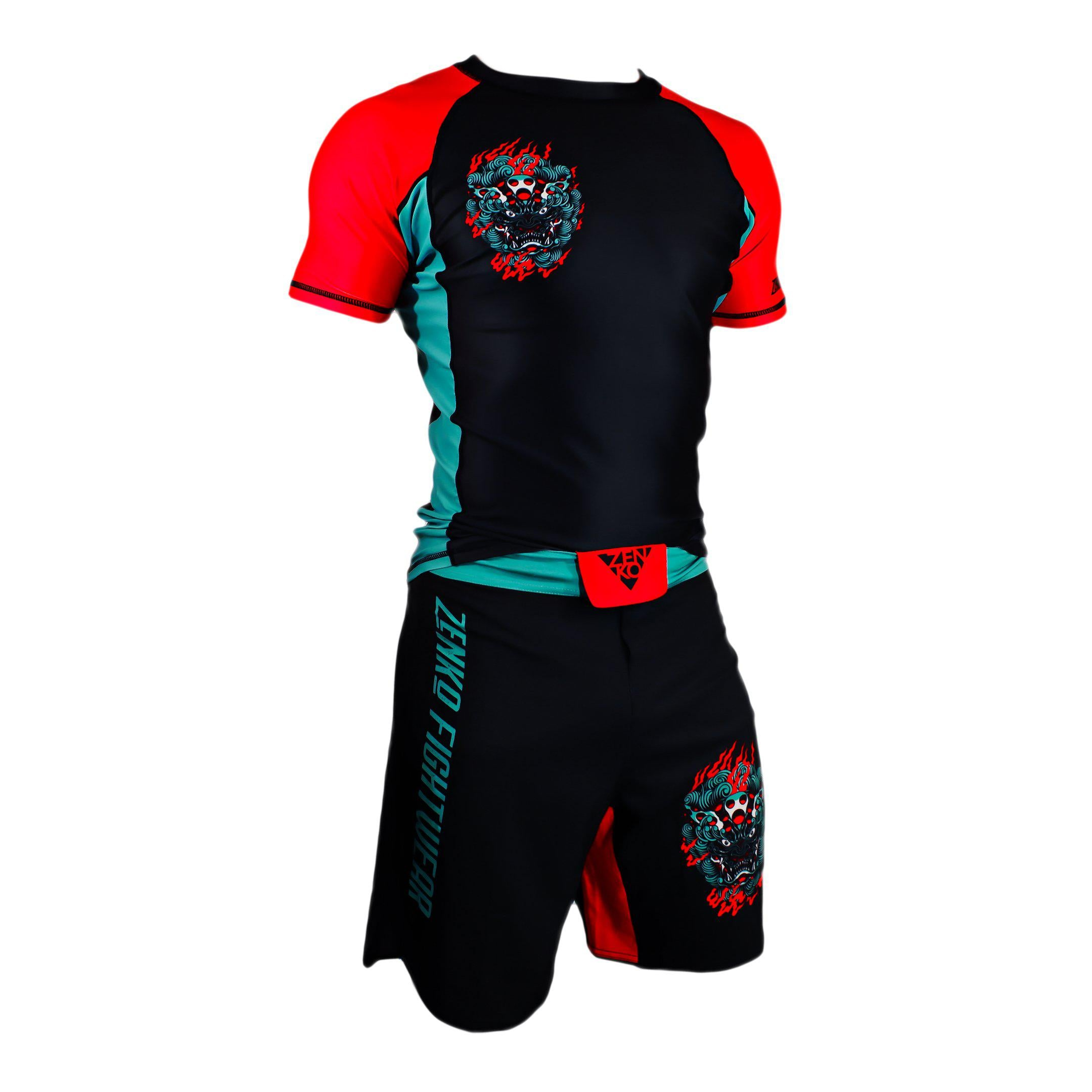Komainu Rashguard & Grappling Shorts - Zenko Fightwear