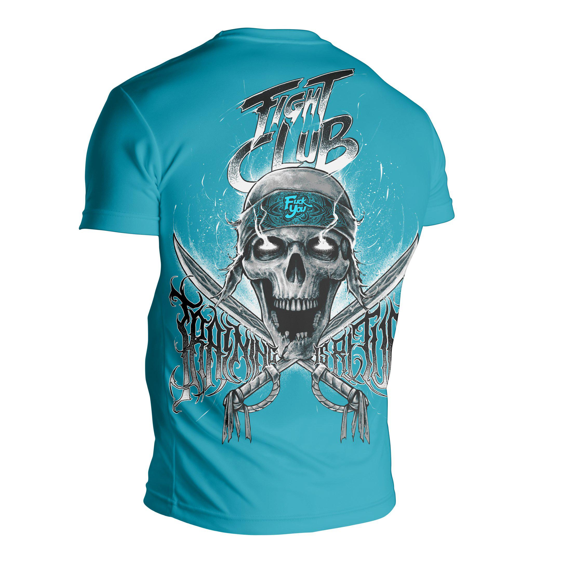 Training Is Rital Marauder Jersey Tee - Blue - Zenko Fightwear
