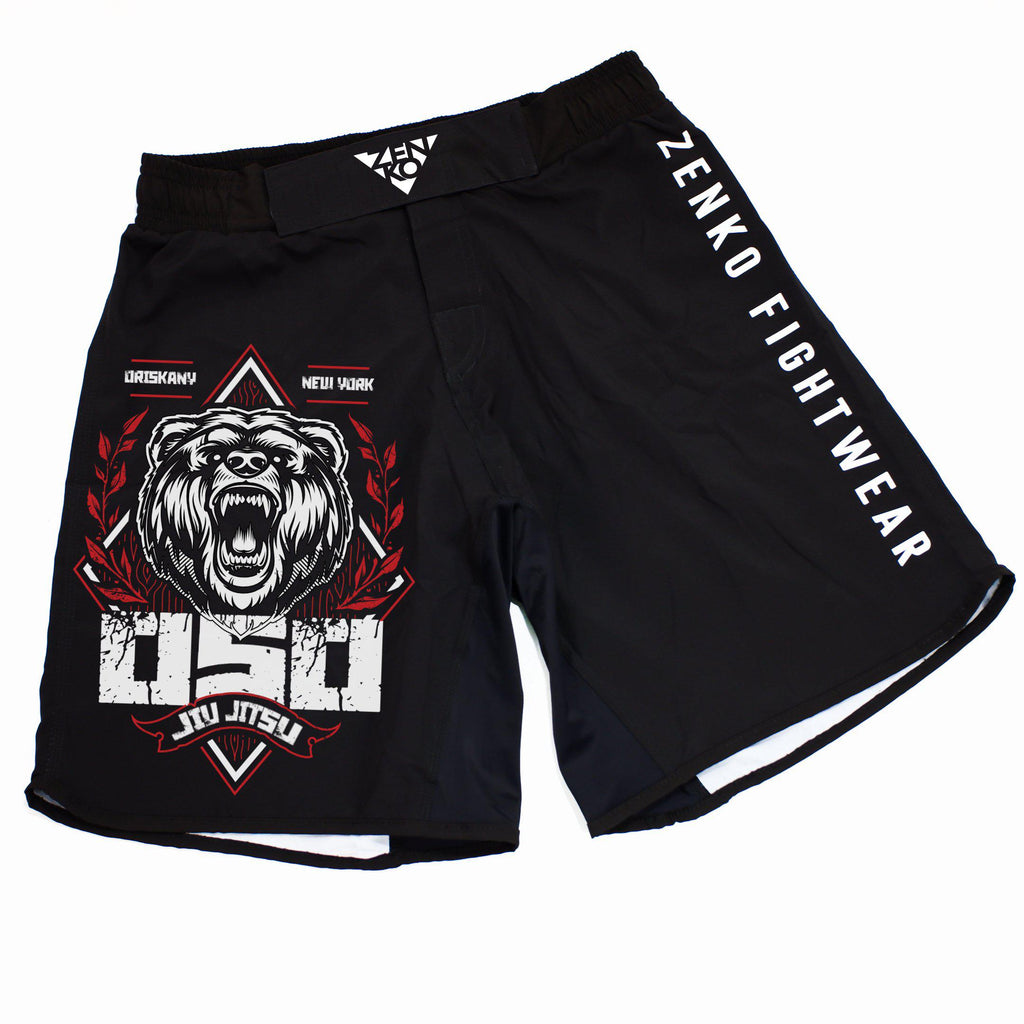OSO Jiu Jitsu Grappling Shorts - Zenko Fightwear