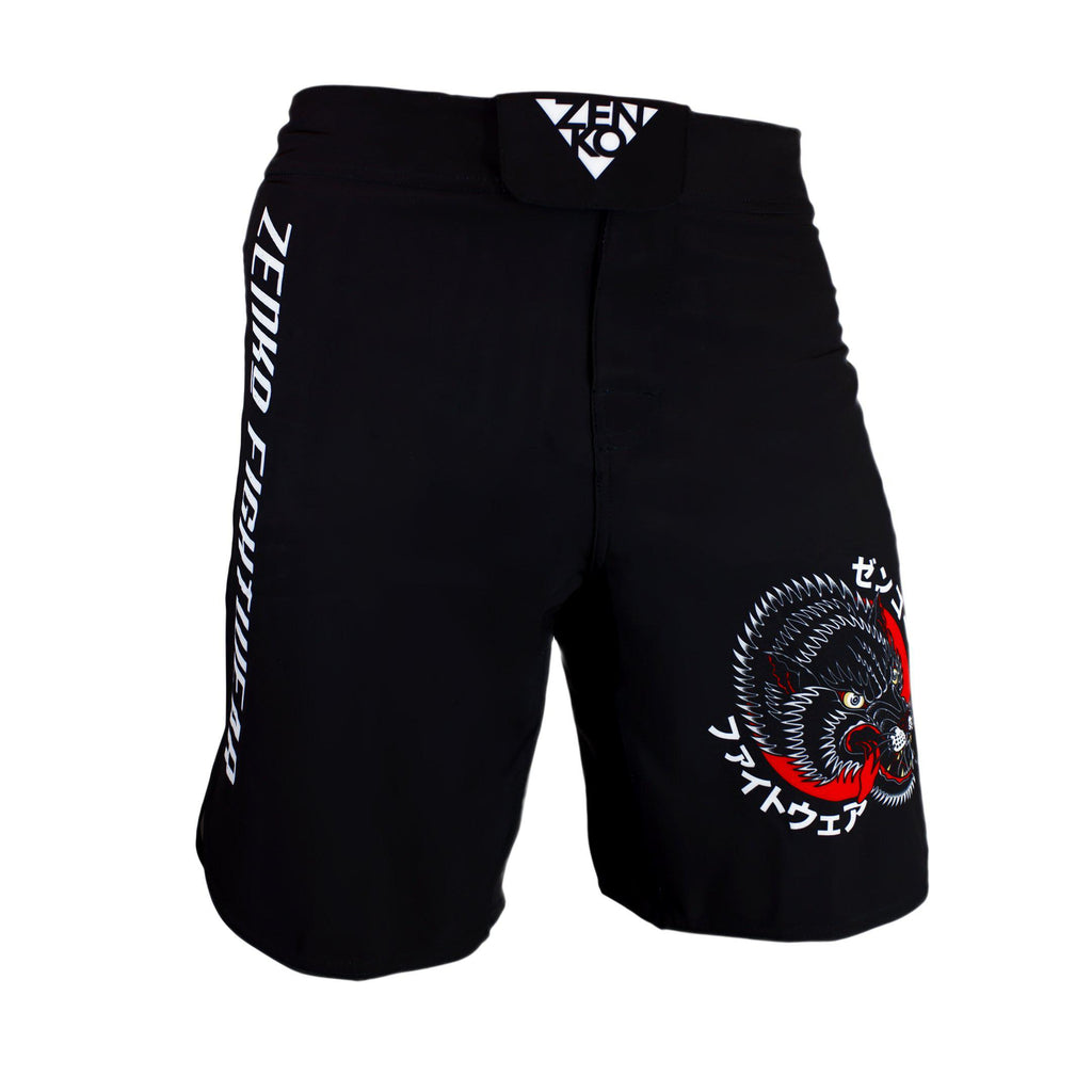 Ōkami Grappling Shorts - Zenko Fightwear