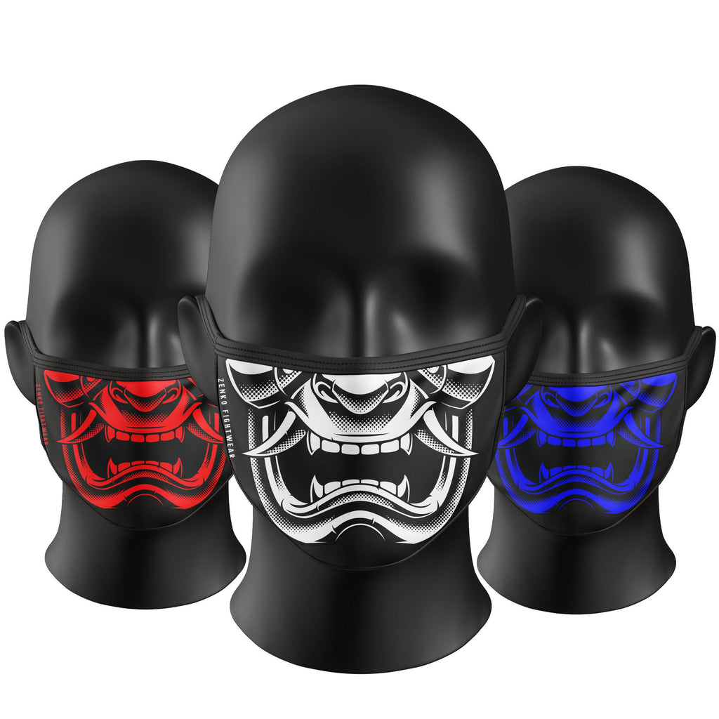 Oni Demon Face Mask - Zenko Fightwear