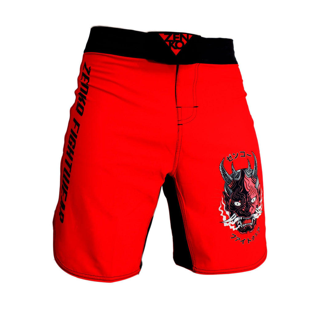 Oni Demon Grappling Shorts - Zenko Fightwear