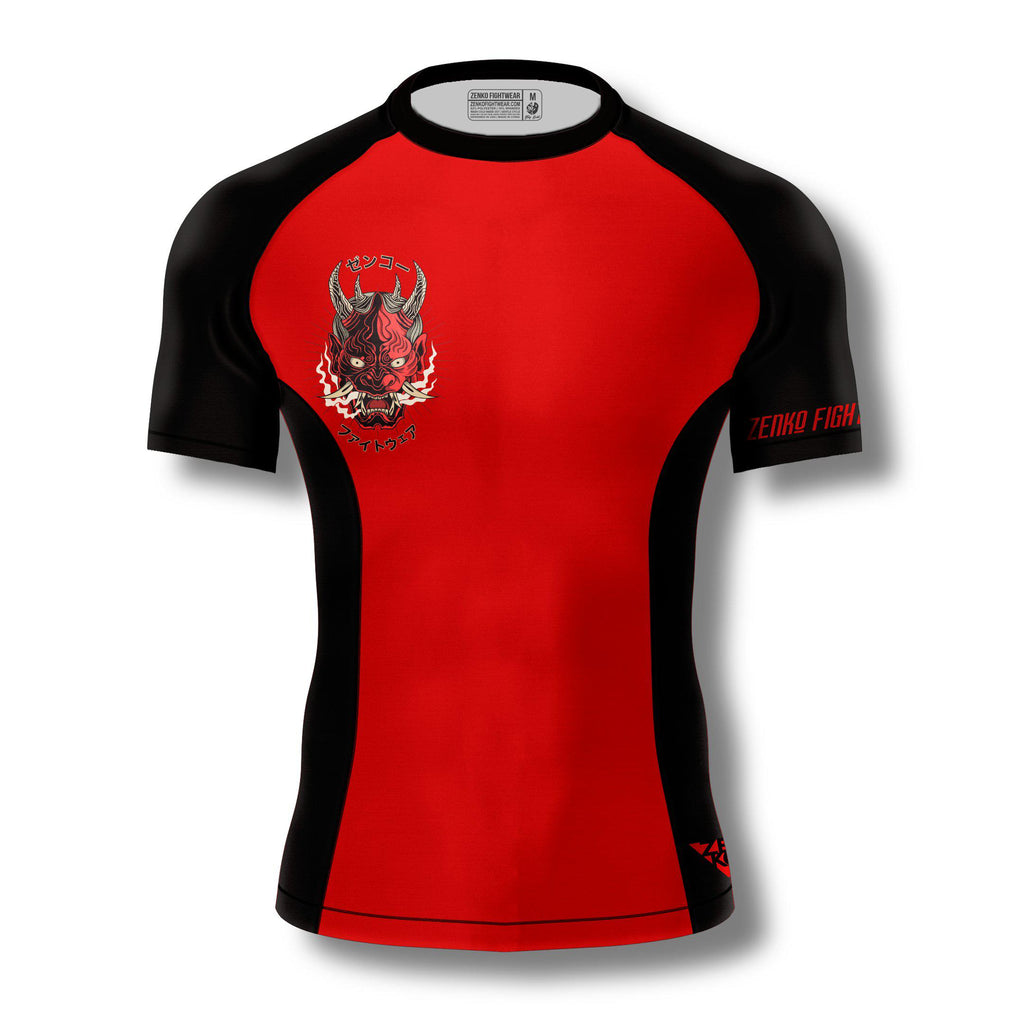 Oni Demon Rashguard - Zenko Fightwear