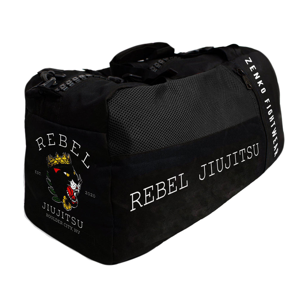 Rebel JiuJitsu Gear Bag - Zenko Fightwear