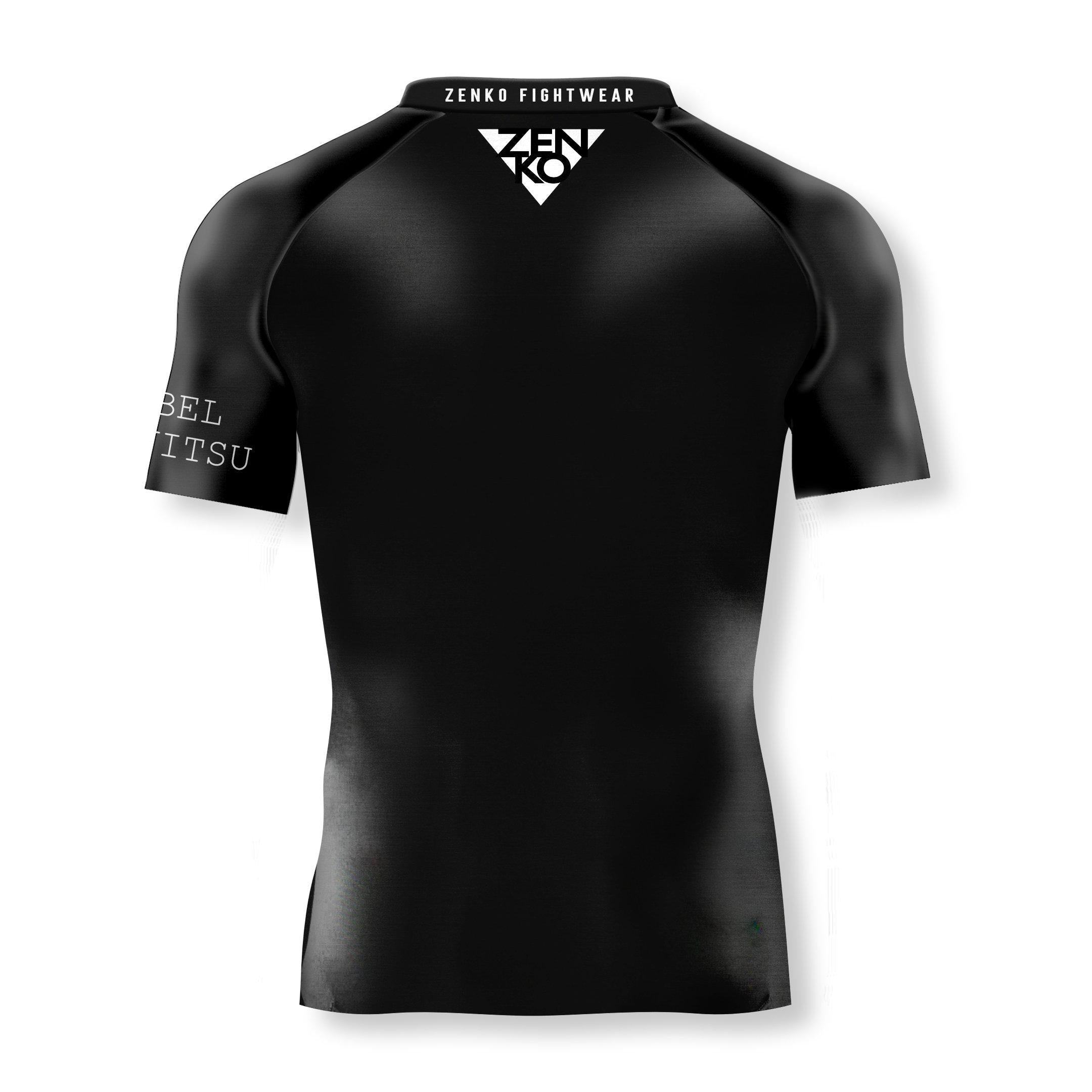 Rebel JiuJitsu Short Sleeve Rashguard V2 - Zenko Fightwear