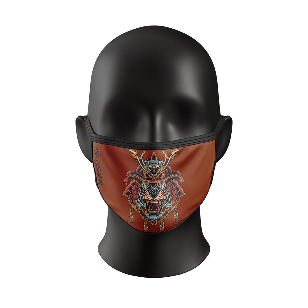 Samurai Tiger Face Mask - Zenko Fightwear