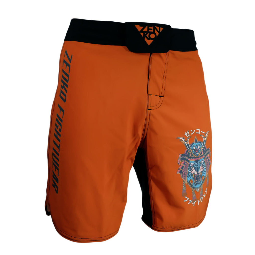 Samurai Tiger Grappling Shorts - Zenko Fightwear