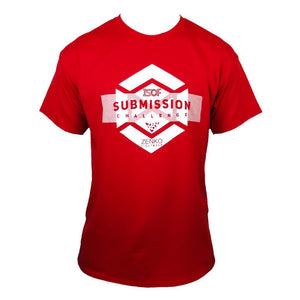 Submission Challenge Zenko Fightwear Red T-Shirt
