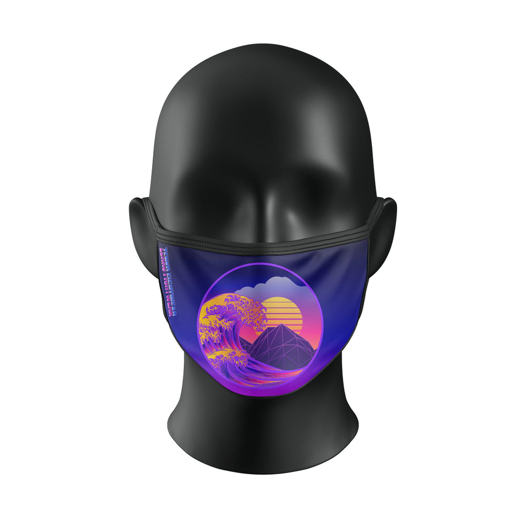 Vaporwave Face Mask - Zenko Fightwear