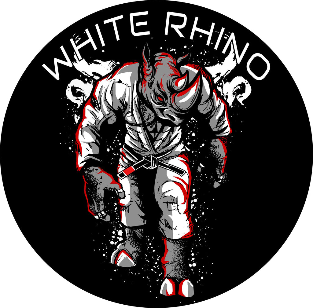 White Rhino BJJ Rhino Gi Patch