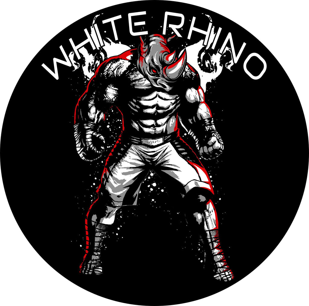 White Rhino Kickboxing Rhino Gi Patch