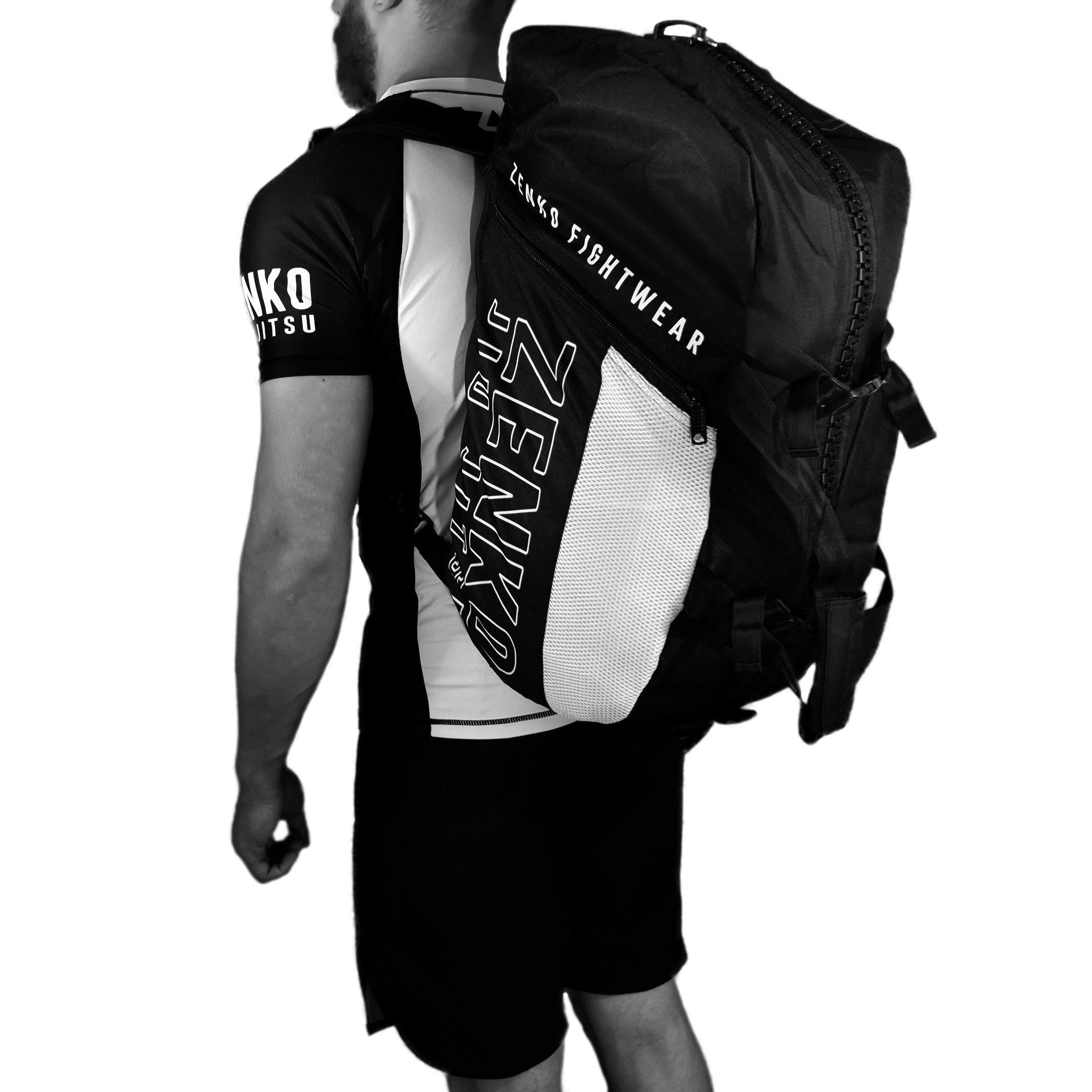 Zenko Fightwear - Ultimate Gear Bag - Convertible Duffle Backpack