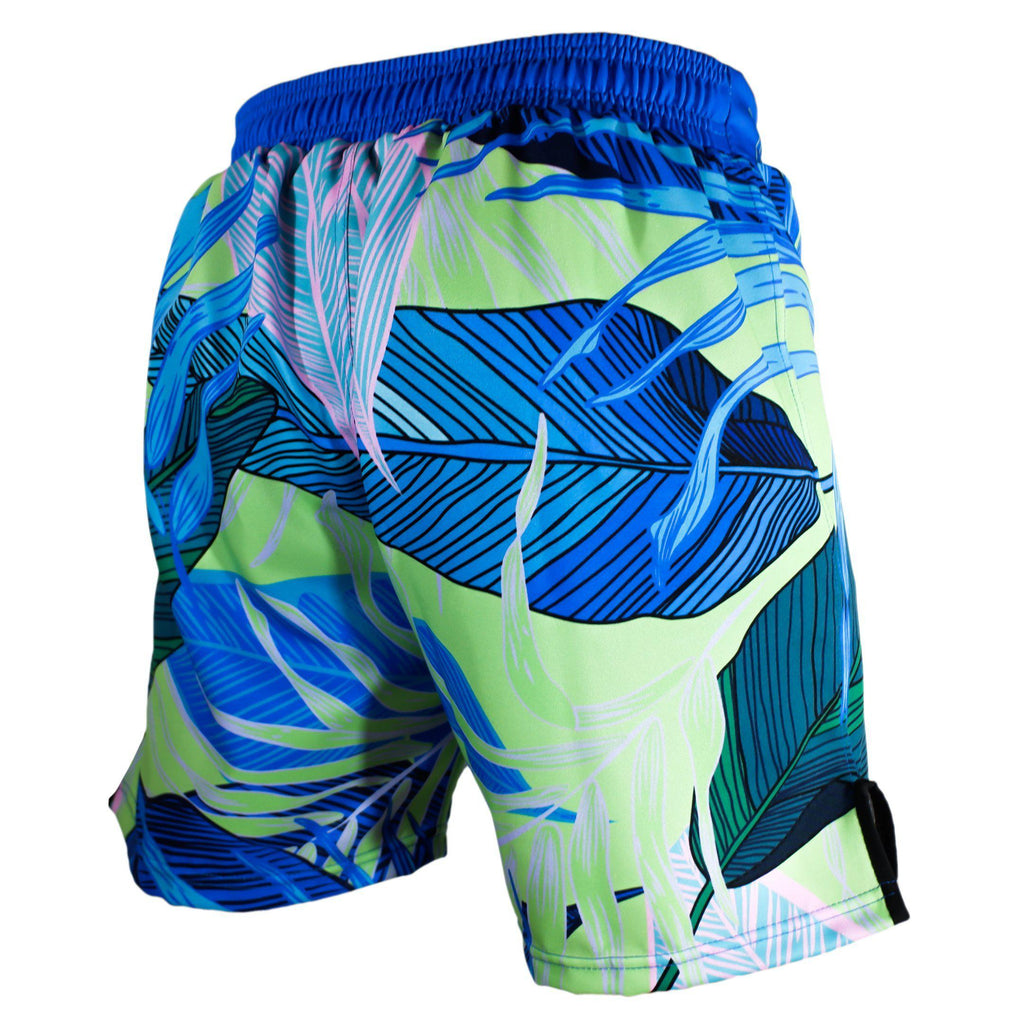 Zenko Fightwear Malibu Hybrid Fight Shorts Back