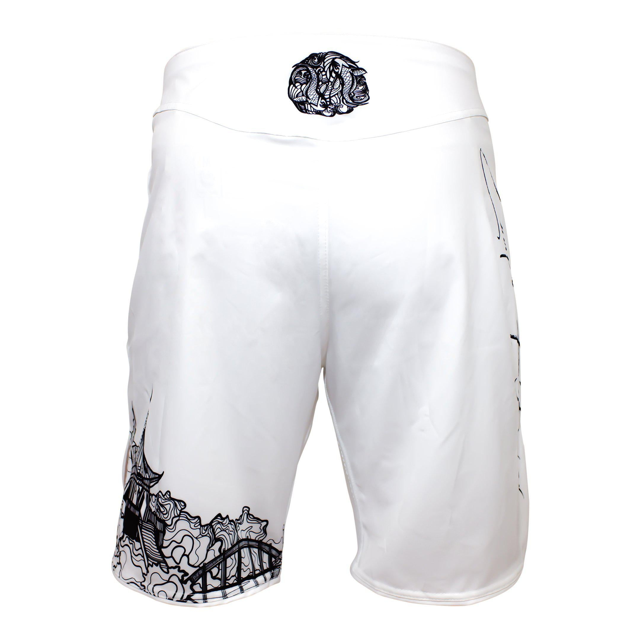 Zenko Fightwear Mizu Grappling Shorts Back