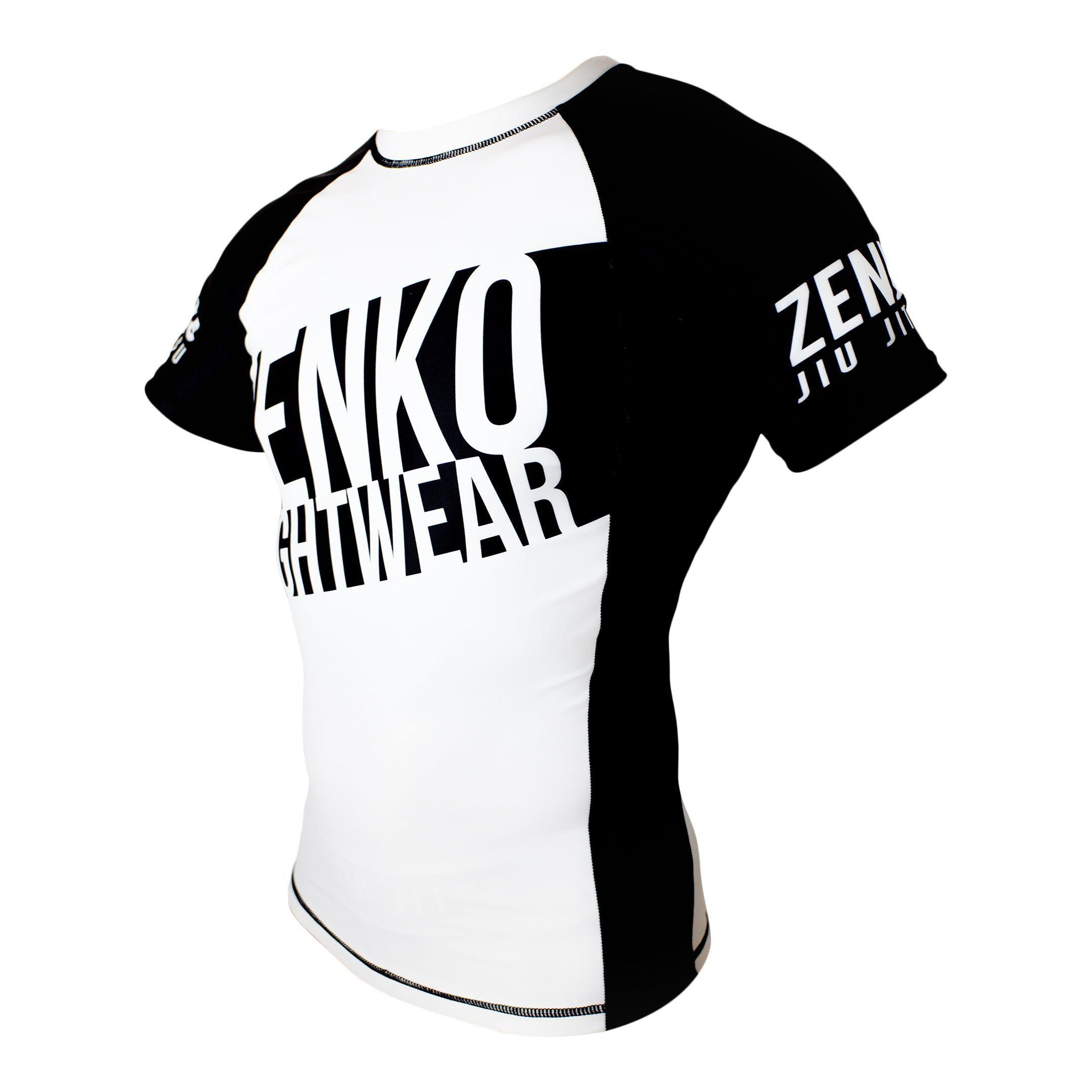 Zenko Fightwear Polarity Rashguard Side