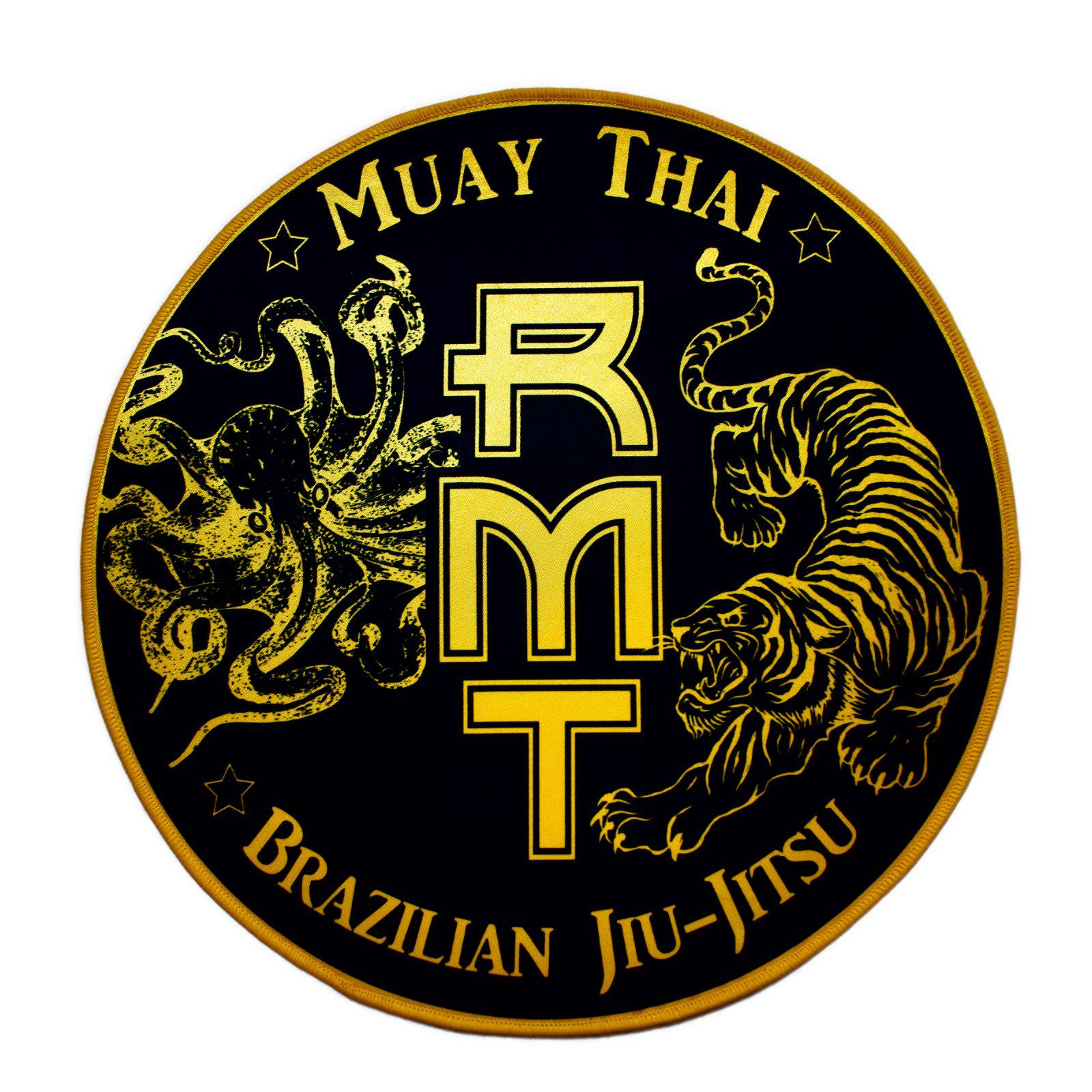 RMT Rad Muay Thai Gi Patch Black