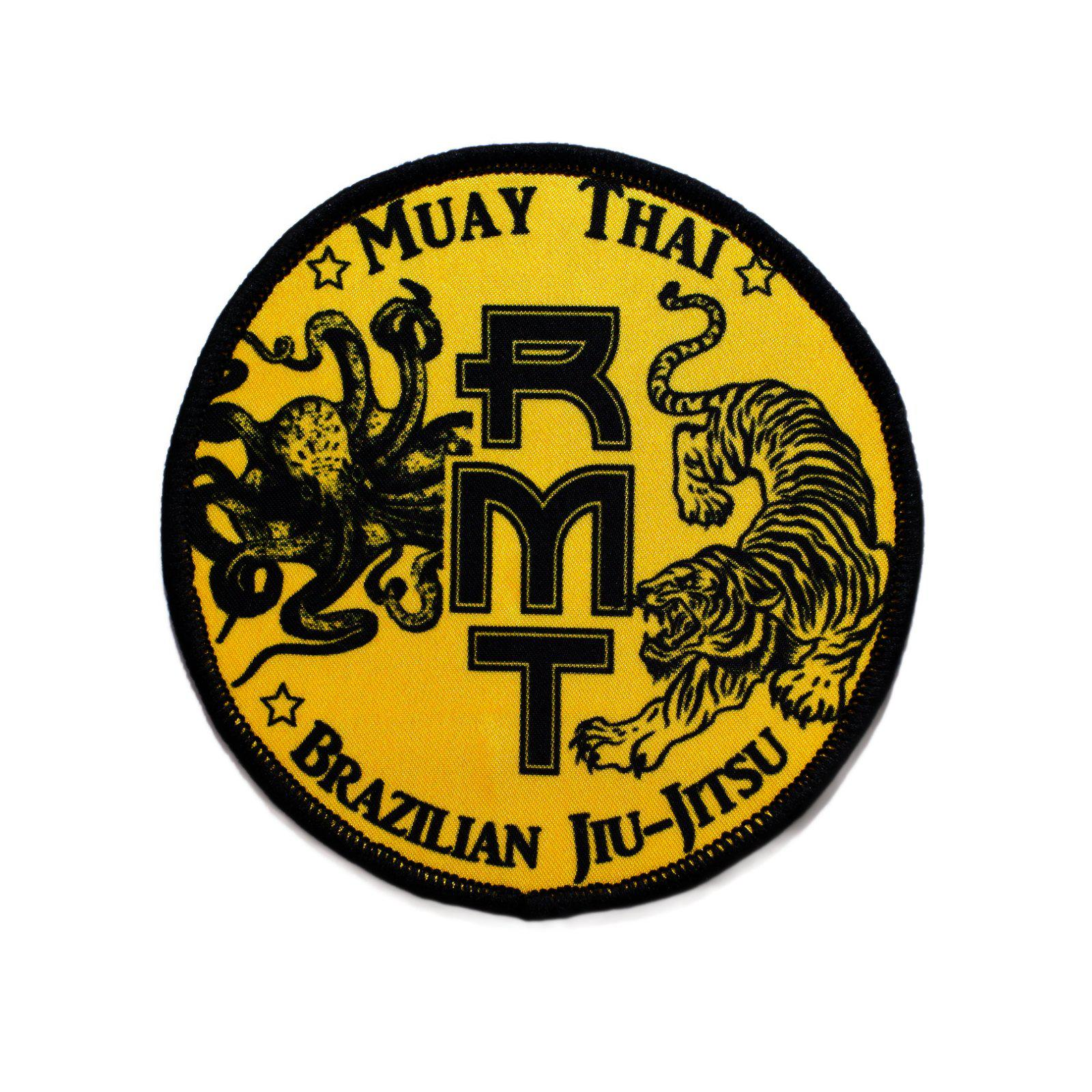 RMT Rad Muay Thai Gi Patch Yellow