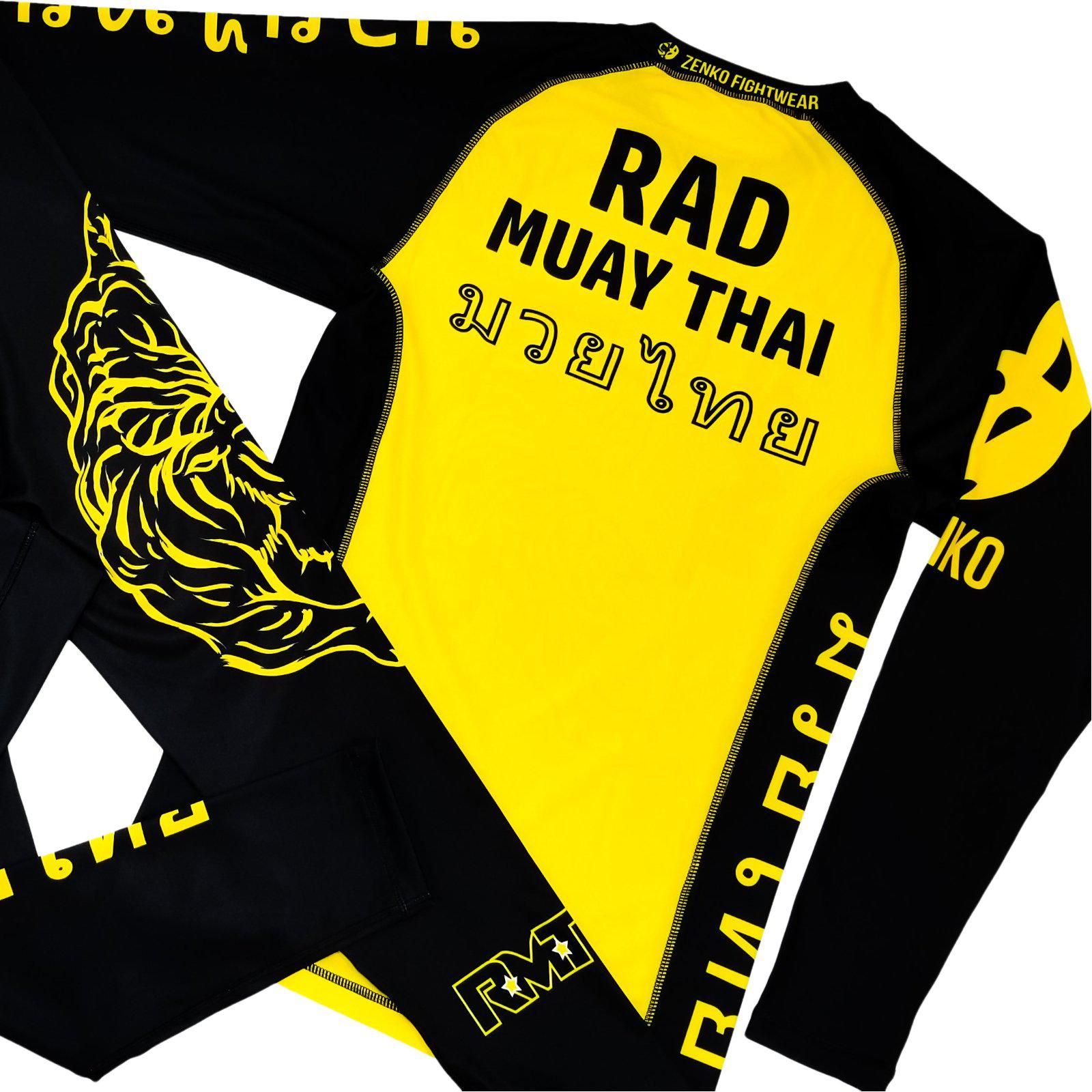 Rad Muay Thai RMT Long Sleeve Rashguard - Zenko Fightwear