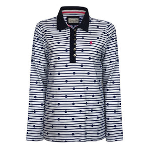 Womens Thomas Cook Jetty Stripe Rugby