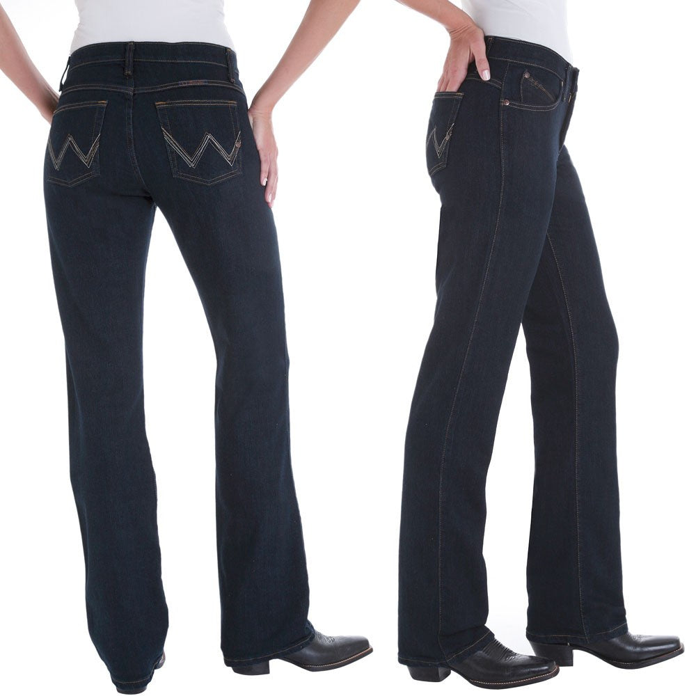 Womens Wrangler Q Baby Ultimate Riding Jean