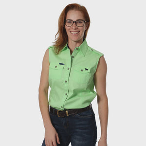 Womens Ringers Western Pentecost Sleeveless Workshirt