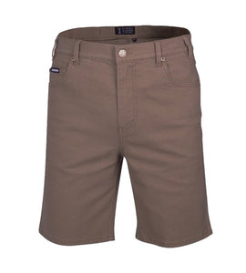 Mens Pilbara Cotton Stretch Shorts