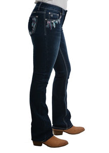 Womens Pure Western Madison Bootcut Jean 32 Leg