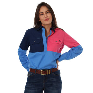Womens Ringers Western Dakota Spliced Workshirt