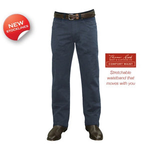 "Mens Thomas Cook Stretch Moleskin 32"" Jean"