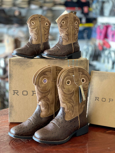 Toddler Kids & Big Kids Roper Daniel Boot w21