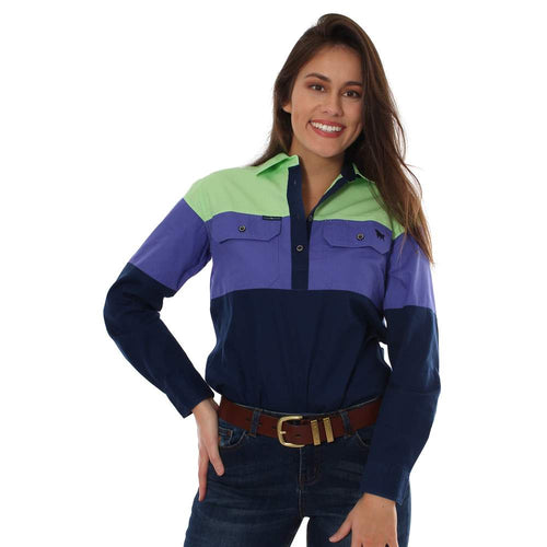 Womens Ringers Western Rocky Spliced Workshirt