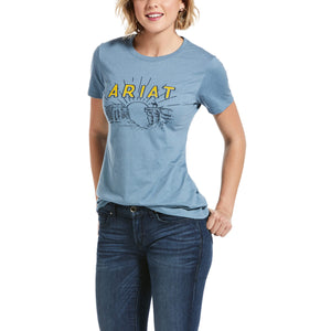 Womens Ariat Lonesome Sunrise SS Tee S20