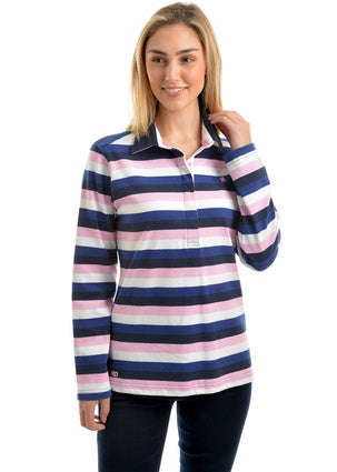 Womens Thomas Cook Caroline Stripe Rugby