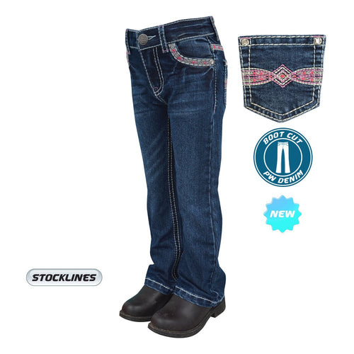 Girls Pure Western Miley Bootcut Jean