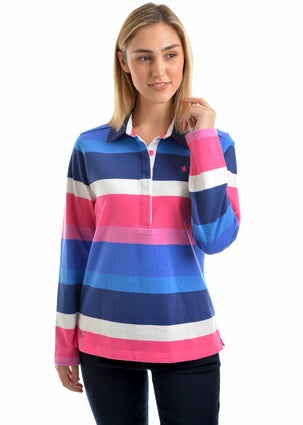 Womens Thomas Cook Maria Stripe Rugby