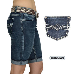 Womens Pure western Lana Shorts.