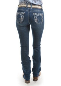 Womens Pure Western Elora Boot Cut Jean