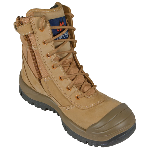 Mongrel High Leg Zipsider Boot Wheat