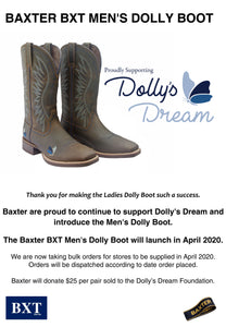 Mens Baxter Dollys Dream Foundation Boot